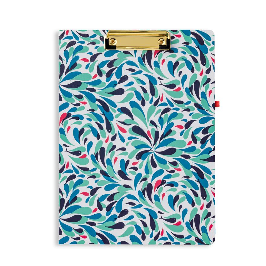 Vera Bradley Clipboard Folio - Splash Multi