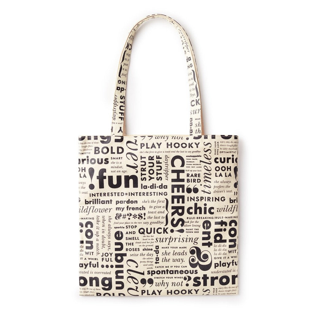 Kate Spade New York Canvas Book Tote - What Do You Say