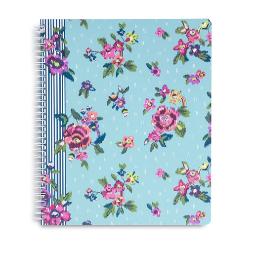 Vera Bradley Large Notebook, Water Bouquet