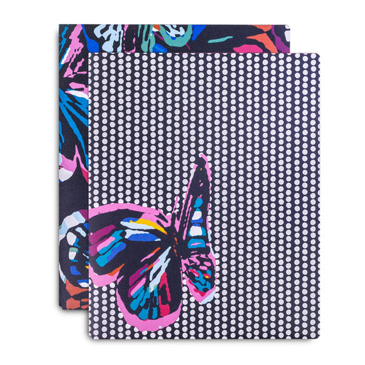 Vera Bradley Pocket Folder, Butterfly Flutter