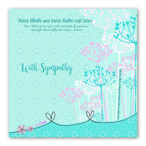 With Sympathy Card | Usmaa's Hampers & Gifts