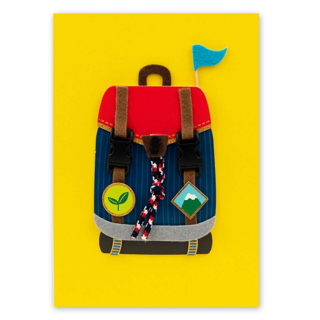 Rucksack Card - Usmaa's Hampers & Gifts