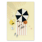 Lounging on the Beach Card - Usmaa's Hampers & Gifts