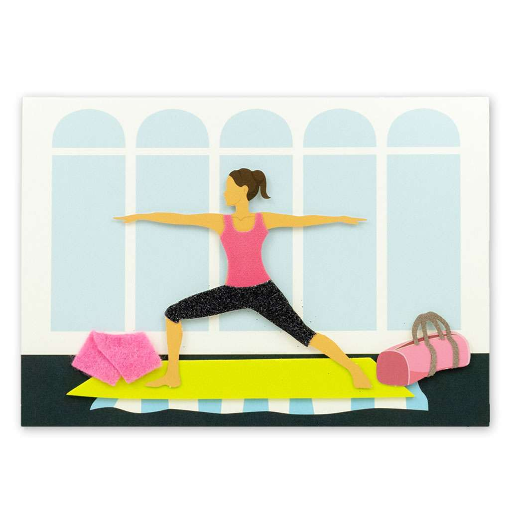 Exercise Card - Usmaa's Hampers & Gifts