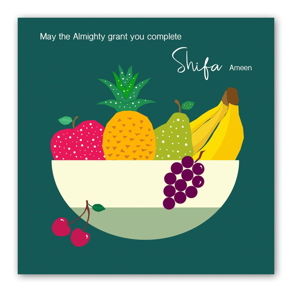 Shifa Card | Usmaa's Hampers & Gifts