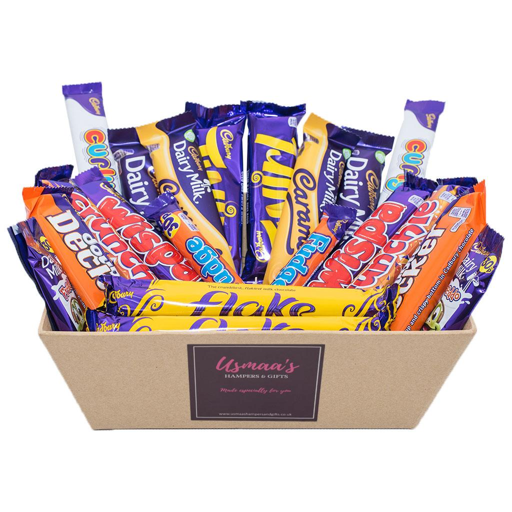 Cadbury Favourites for One Chocolate Hamper - Usmaa's Hampers & Gifts