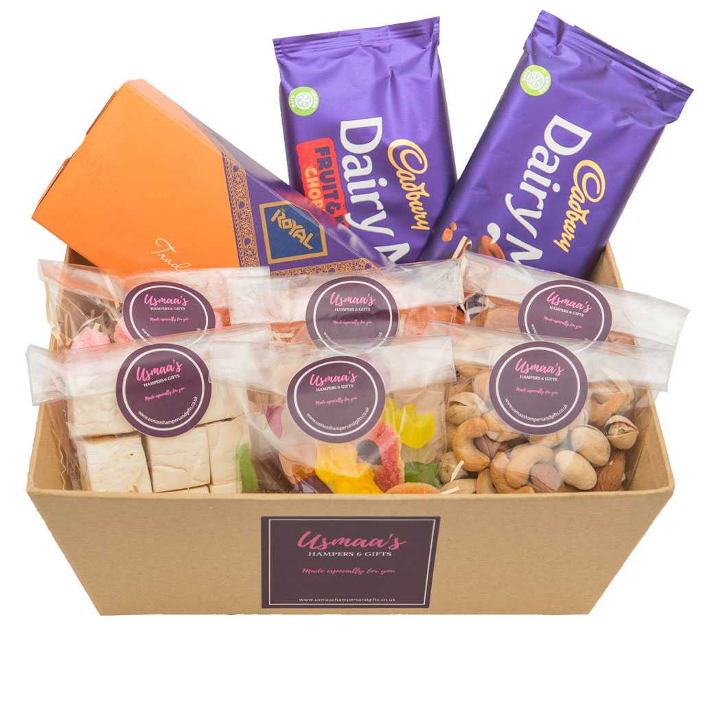 Celebration Hampers - Supreme Mithai Hamper - Usmaa's Hampers & Gifts