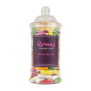 Liquorice Comfits Sweet Jar - Usmaa's Hampers & Gifts