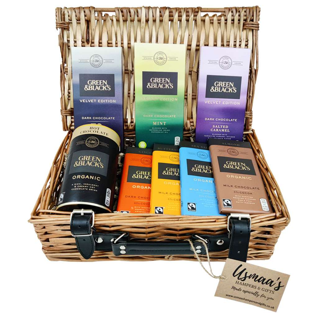 Luxury Green & Black's Hamper - Usmaa's Hampers & Gifts