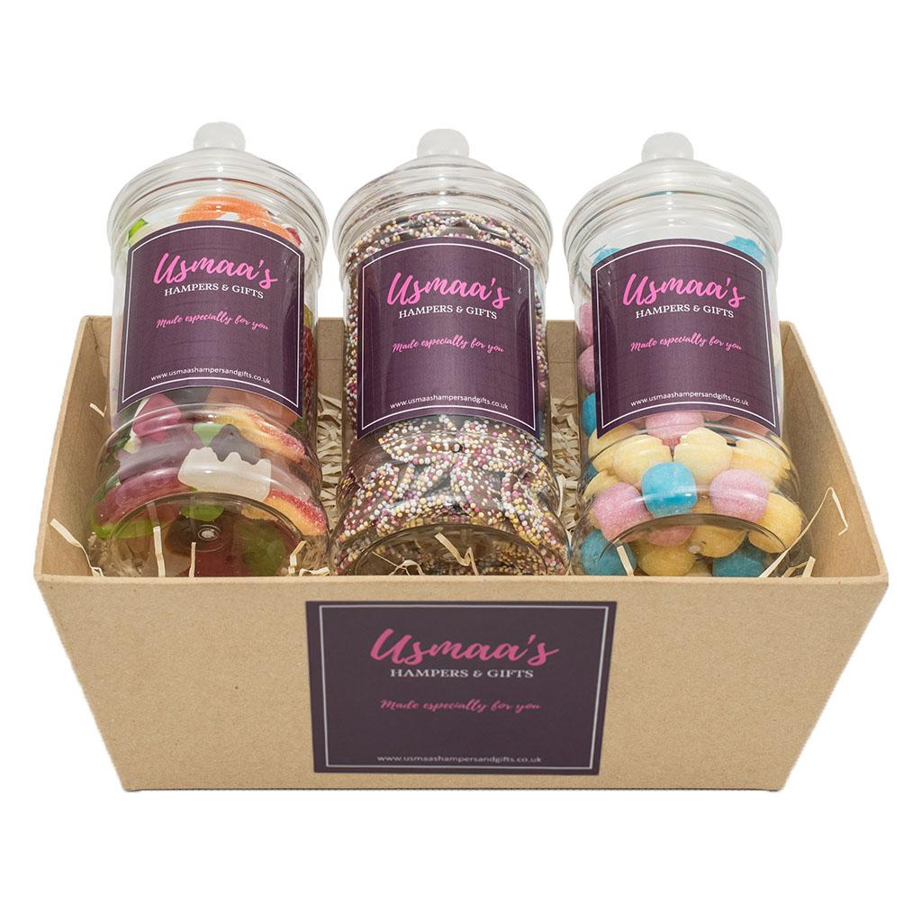 Pick 'n' Mix Jars Hamper - Usmaas Hampers & Gifts