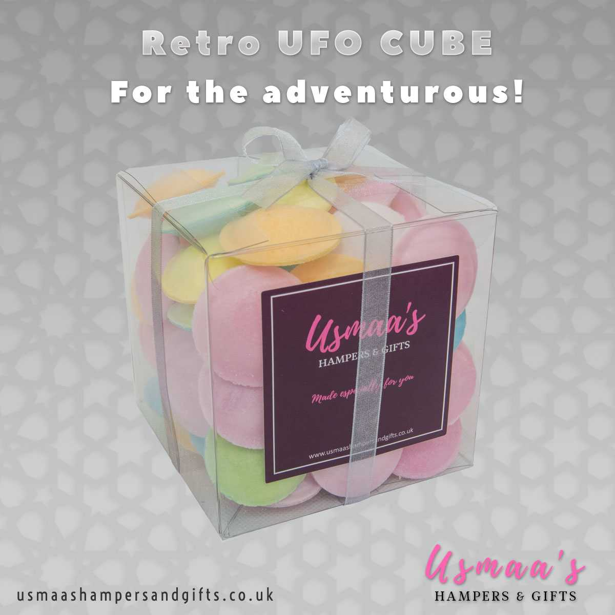 Retro UFO Cube - Usmaas Hampers & Gifts