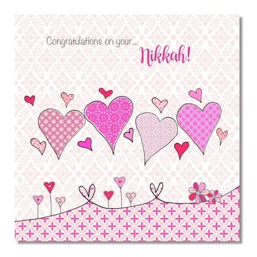 Nikkah Card - Usmaas Hampers & Gifts