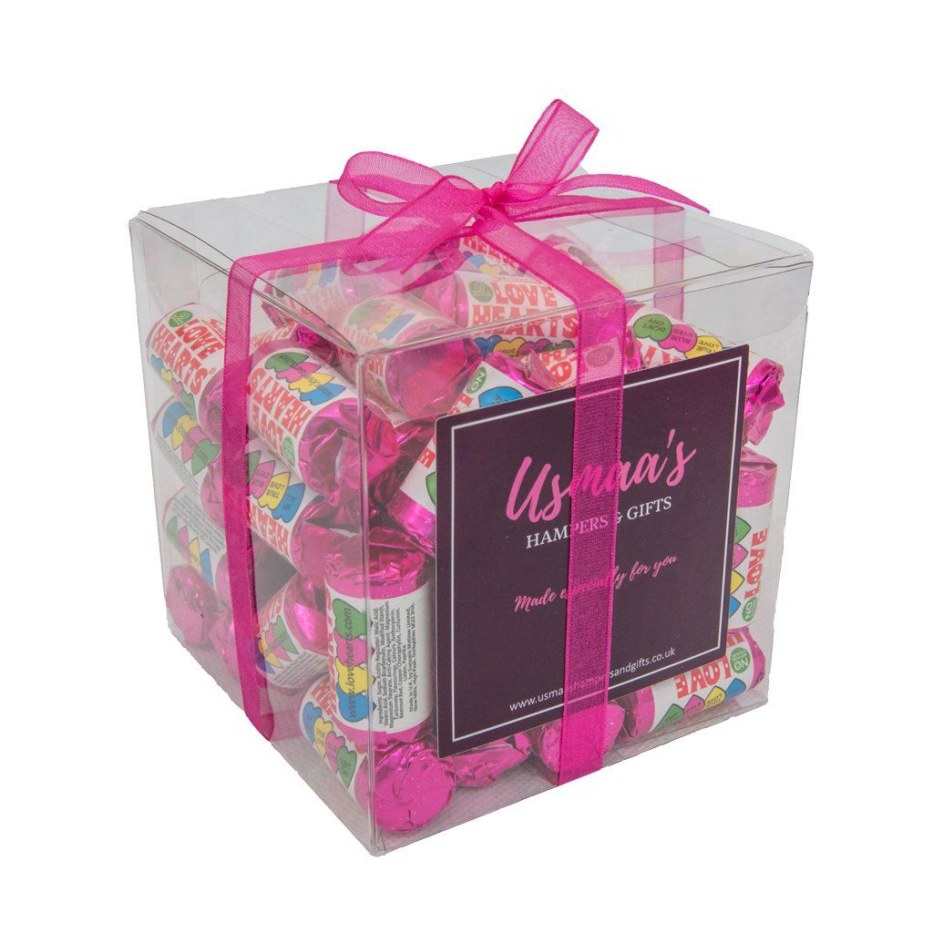 Retro Love Hearts Cube - Usmaas Hampers & Gifts