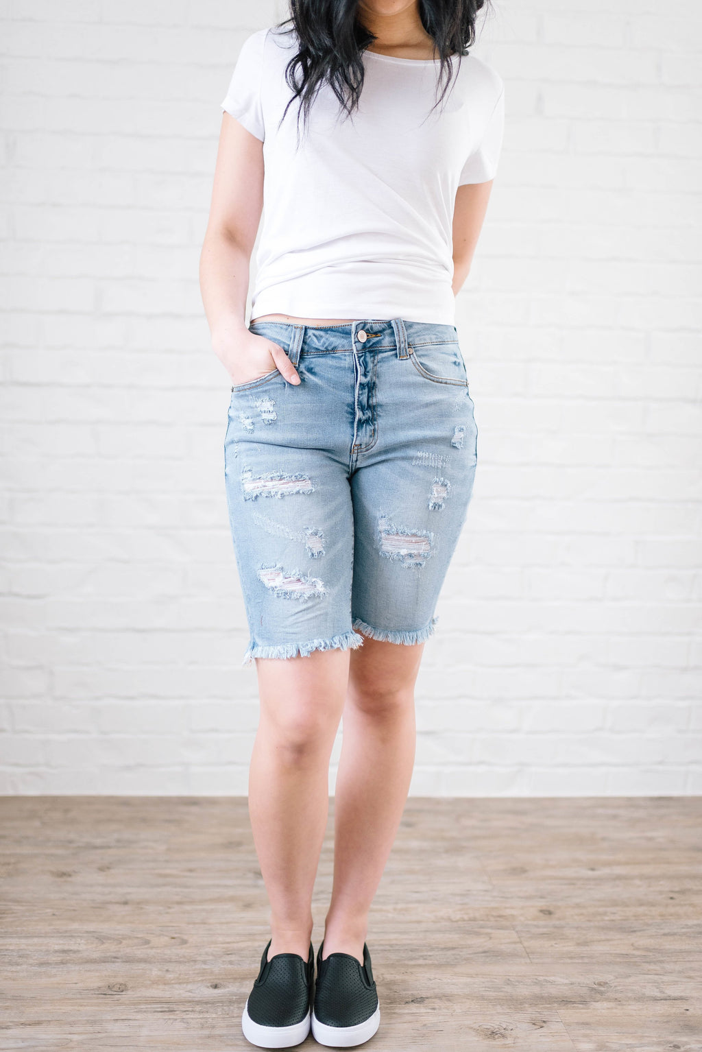 Every Day Denim Shorts