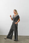 See And Be Seen Velvet Jumpsuit - ALL SALES FINAL