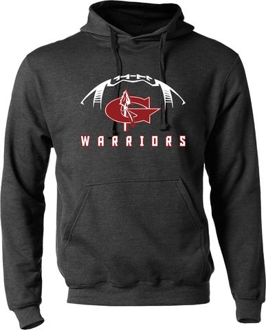 Goshen Warrior Football Hoodie with Custom Name/Number
