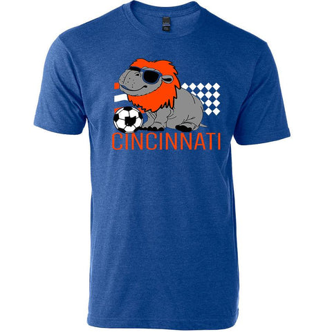 Hip Hip Hooray For Cincy Soccer Youth T-Shirt