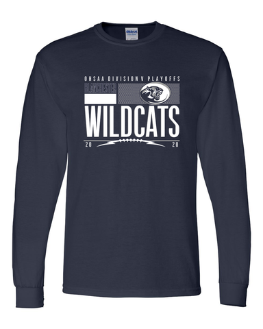 Blanchester Wildcats 2020 Playoff Long Sleeve Tees