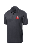 Goshen Warrior Embroidered Polo ( with optional last name or Coach on right chest)
