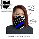 Back The Blue Neck Gaiter