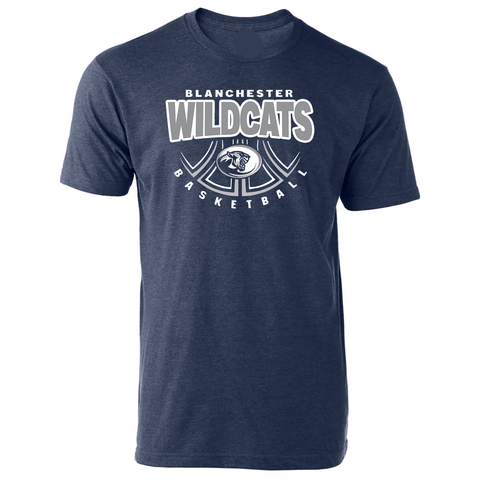 Blanchester Wildcats Basketball  T-Shirt