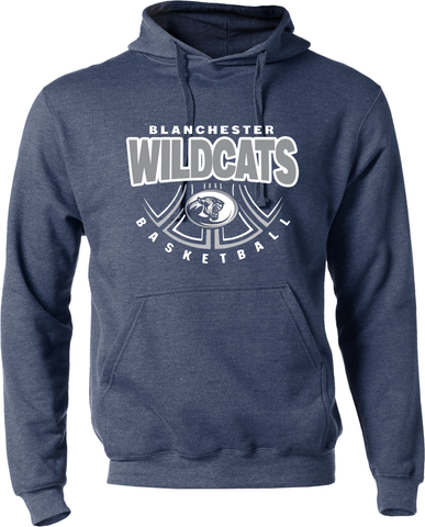 Blanchester Wildcats Basketball Hoodie