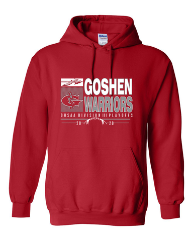 Goshen Warriors 2020 Playoff Hoodie