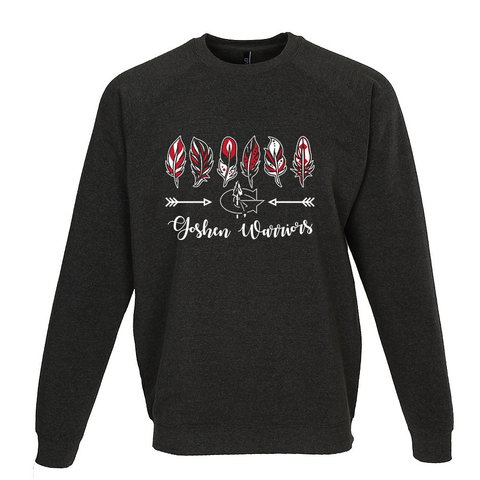 Goshen Warriors 6 Feathered Crewneck
