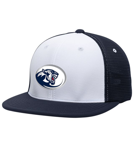 Copy of Blanchester Wildcats Youth Basketball Emb Logo Flexfit Hat