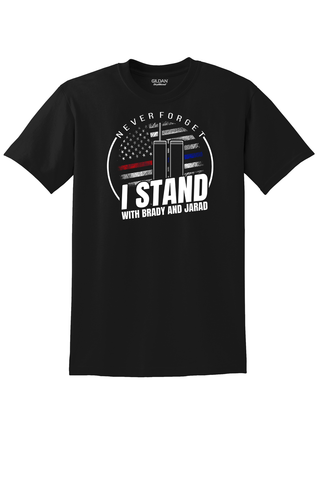 I Stand with Brady and Jarad T-Shirt