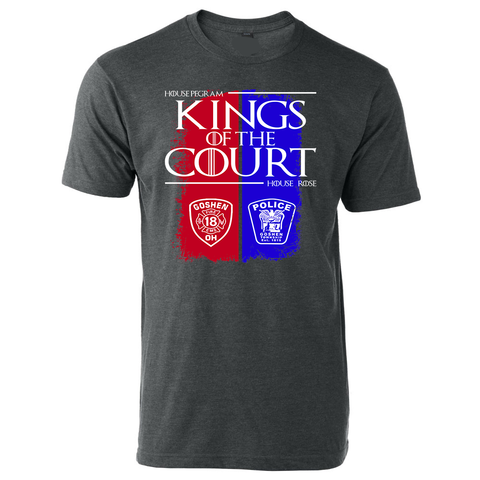 Kings of The Court Police Vs Fire Tee