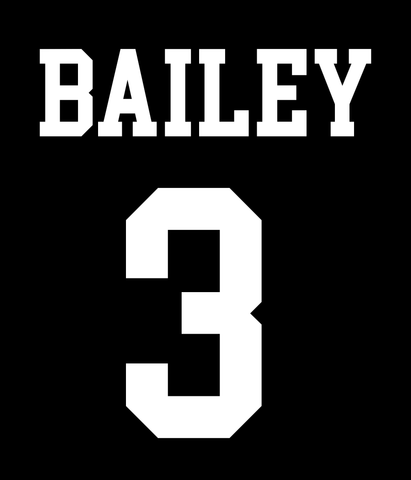 Spiritwear NAME/NUMBER ADDITION