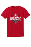 GOSHEN WARRIORS BIG LOGO FOOTBALL TEE