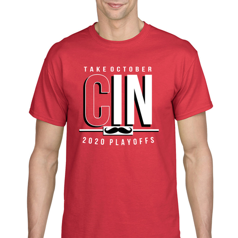 C(IN)CY Take October Playoff T-Shirt