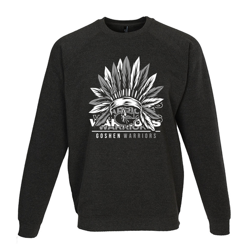 Goshen Warriors headress Crewneck