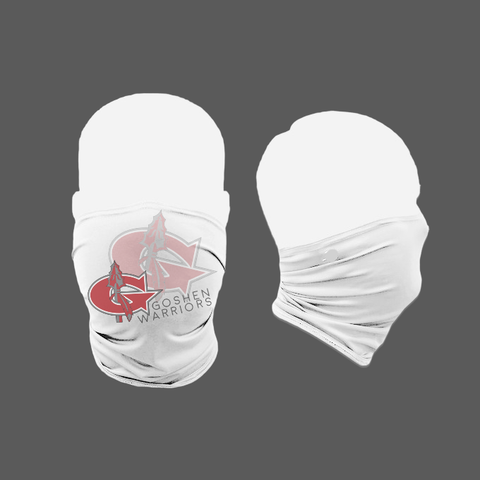 Goshen Warriors Neck Gaiter(white)