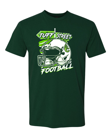 Wilmington College TUFFstreet Helmet T-Shirt