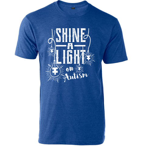 Shine a Light on Autism Awareness T-Shirt