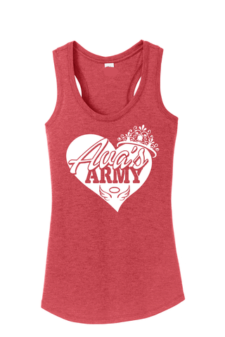 AVA'S ARMY PRINCESS HEART TANK