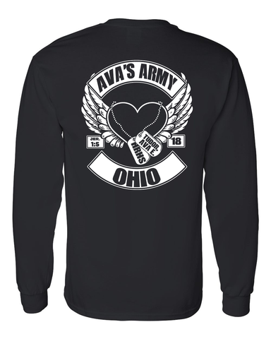 Ava's Army Squad Long Sleeve Tee