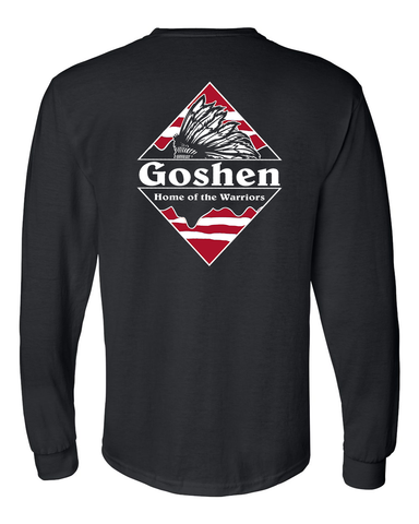 Goshen Warrior Patagonia 2022 Class Fundraiser Long Sleeve Tee