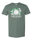 GCVC Volleyball Logo 50/50 Shirt
