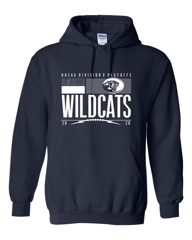 Blanchester Wildcats 2020 Playoff Hoodie