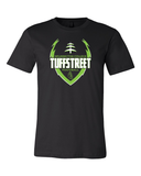 Wilmington College TUFFstreet Game Day 50-50 blend  T-Shirt