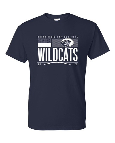 Blanchester Wildcats 2020 Playoff Tees