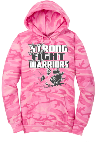 Going Pink in October Junior Class fundraiser Camo Hoodie