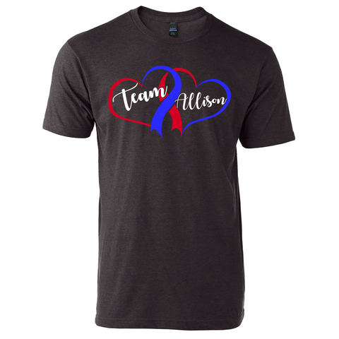 Team Allison Fighting CHD T-Shirt