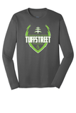 Wilmington College TUFFstreet Game Day 100% poly Long Sleeve Shirt