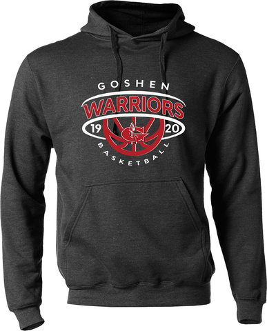 Goshen Warriors Basketball Dominance Hoodie