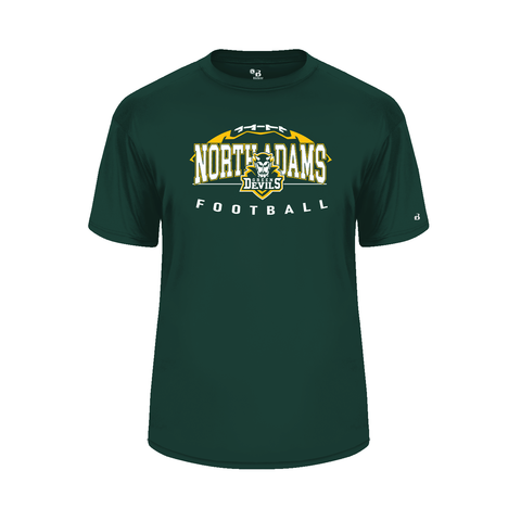 North Adams Football Design 2 POLY Shirt